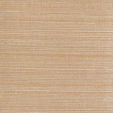 Peach/Cream Grasscloth Wallcovering by York