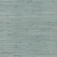 Silver/Aqua Wallcovering by York