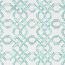 Shorely Blue Print Wallcovering by Lee Jofa Wallpaper