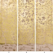 Gold Print Wallcovering by Lee Jofa Wallpaper
