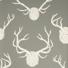 Grey Animal Wallcovering by Lee Jofa Wallpaper