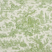 Moss Toile Wallcovering by Brunschwig & Fils