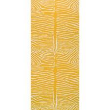 Saffron Animal Wallcovering by Brunschwig & Fils