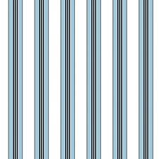 Ciel Stripes Wallcovering by Brunschwig & Fils