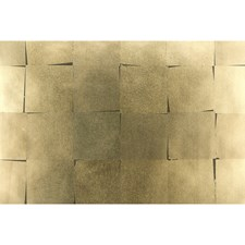 Bronze Metallic Wallcovering by Brunschwig & Fils
