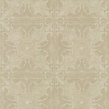 Cream/Taupe/Tan Tile Wallcovering by York