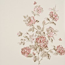 Antique Rose Wallcovering by Baker Lifestyle Wallpaper