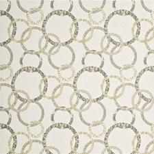 Ivory/Stone Wallcovering by Baker Lifestyle Wallpaper