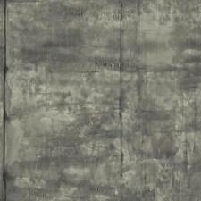 Light Grey/Medium Grey/Black Industrial Wallcovering by York