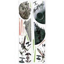 RMK3012SCS Star Wars Classic Ships decal by York