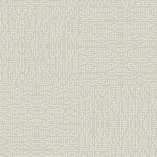 Silver/Cream Geometrics Wallcovering by York