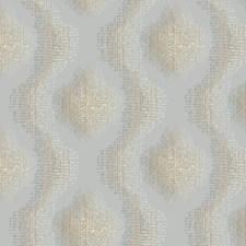 Silver/Dark Grey/Cream Weaves Wallcovering by York