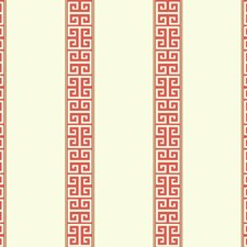 White/Orange/Gold Stripes Wallcovering by York