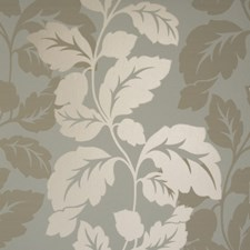 Mineral Leaf Wallcovering by Clarke & Clarke