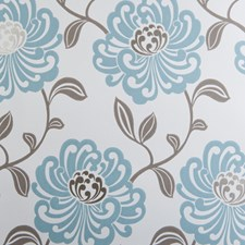 Mineral Floral Medium Wallcovering by Clarke & Clarke