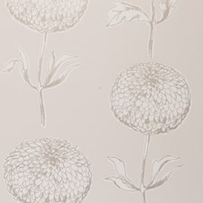 Natural Floral Large Wallcovering by Clarke & Clarke