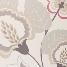 Mineral Floral Large Wallcovering by Clarke & Clarke