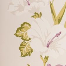 Mauve Botanical Wallcovering by Clarke & Clarke