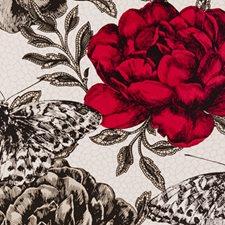 Rouge Animal Wallcovering by Clarke & Clarke