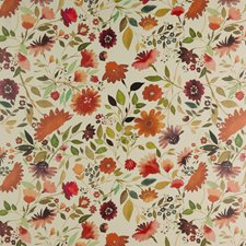 Multi Floral Large Wallcovering by Clarke & Clarke