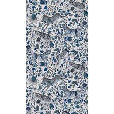 Blue Animal Wallcovering by Clarke & Clarke