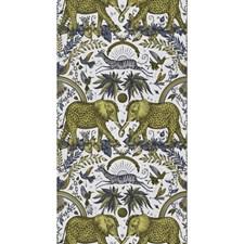 Gold Animal Wallcovering by Clarke & Clarke