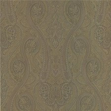 Green/Blue/Brown Wallcovering by Kravet Wallpaper