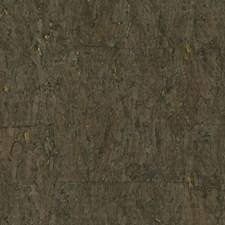 Chocolate/Gold/Metallic Metallic Wallcovering by Kravet Wallpaper