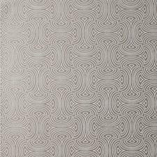 Silver/Grey/Metallic Modern Wallcovering by Kravet Wallpaper