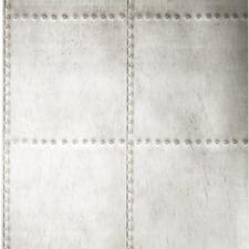 Metallic/Silver/Grey Novelty Wallcovering by Kravet Wallpaper