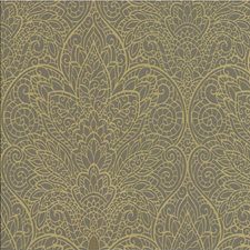 Bronze/Gold/Metallic Damask Wallcovering by Kravet Wallpaper