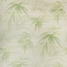 Ivory/Green Botanical Wallcovering by Kravet Wallpaper
