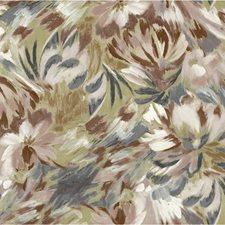 Brown/Teal/Multi Botanical Wallcovering by Kravet Wallpaper