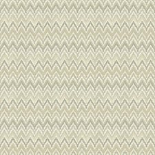 Ecru/Buff/Charcoal Brown Chevron Wallcovering by York