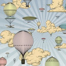 WALS0246 Come Fly With Me Wall Mural by Brewster