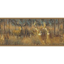 Yellow/Brown Buck Wallcovering by York