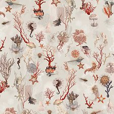 Ecru Wallcovering by Scalamandre Wallpaper