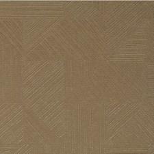 Straw Geometric Wallcovering by Winfield Thybony