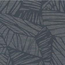 Indigo Botanical Wallcovering by Winfield Thybony