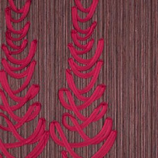 Red Wallcovering by Scalamandre Wallpaper