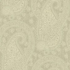 Matte Beige On Metallic Beige Raised Prints Wallcovering by York