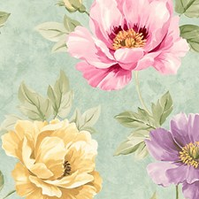 Turquuoise Wallcovering by Scalamandre Wallpaper