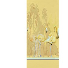 Golden - Left Panel Wallcovering by Scalamandre Wallpaper