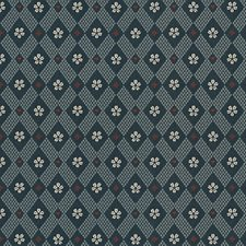 Dark Blue Wallcovering by Scalamandre Wallpaper