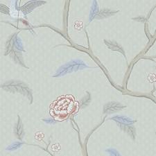 Grey/Brown Wallcovering by Scalamandre Wallpaper