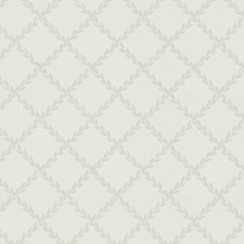 White/Grey Wallcovering by Scalamandre Wallpaper