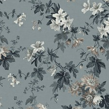Misty Blue Wallcovering by Scalamandre Wallpaper