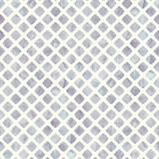 White/Lavender Contemporary Wallcovering by York
