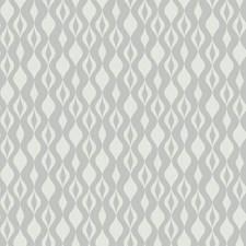 Mylar Silver/White/Silver Glitter Bohemian Wallcovering by York